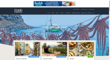 Food and Travel Magazine   Food and Travel Magazine - Luxury food, travel, drink and recipes