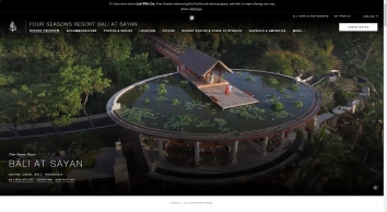 Bali Luxury Resort | Ubud Hotel | Four Seasons Resort Bali at Sayan