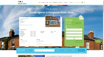 Estate agents in Hangleton Road, Hove - Contact Us - Fox & Sons