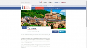 French Property Exhibition Yorkshire 13th - 14th May 2016 Wetherby Racecourse