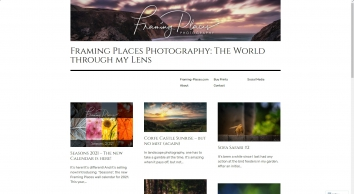 Framing Places: The Project Blog