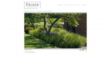 Fraser Garden Design