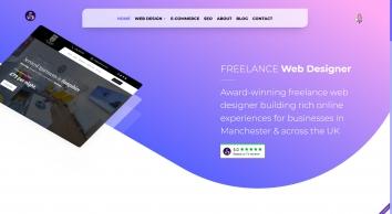 Freelance Web Designer in Manchester, UK | Brochure Websites, E-commerce & SEO Services