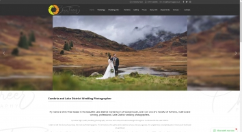 Lake District & Cumbria Wedding Photography by Chris Freer