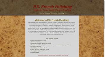 PD French Polishing| Surrey| French Polisher| Floor restoration