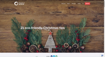 21 eco-friendly Christmas tips | Friends of the Earth