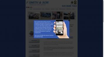 F Smith & Son Removals & Storage Croydon London Surrey