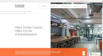 #1 Office Design London | Office Interior Design London - Fusion