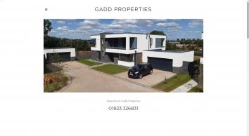 Gadd Properties | Quality House Builders Throughout Somerset & Devon