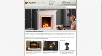 Galleon Fireplaces