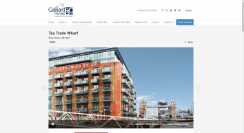 Tea Trade Wharf | Galliard Homes