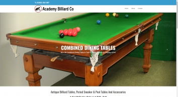 Antique Billiard,Snooker & Pool tables