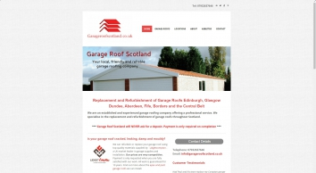 Garage Roof Scotland - Repairs | Asbestos | Edinburgh | Glasgow