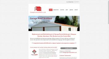 Garage Roof Scotland - Repairs | Asbestos | Edinburgh | Glasgow