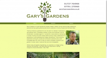Gary\'s Gardens. Hedge Cutting, Pruning, Lawn Repair, Fencing