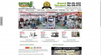 Gator Vacuum | Vacuums, Central Vacuums, & Sewing Machine Repair