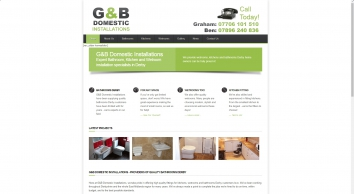 Kitchens, Wetrooms + Bathrooms Derby | G&B Domestic Installations