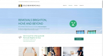 Gold Bear Removals Brighton and Hove