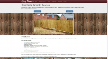 Greg Harris Carpentry Services