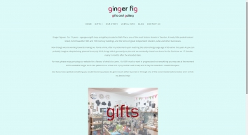 Home - Ginger Fig offers gifts for friends, family and for the home
