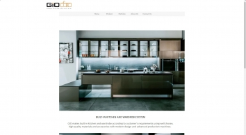 GiO Home : Kitchen Furniture that are durable and water proof