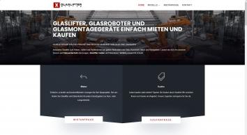 Glaslifter Glasroboter mieten und kaufen - SPEXLIFT