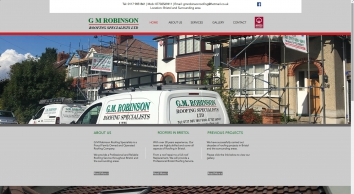 G M Robinson Roofing Specialists Bristol | Roofers | Tiled | Flat | Repairs