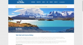 Tailor Made South America Holidays | Go Andes