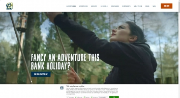 Days Out and Outdoor Adventure Activities at Go Ape