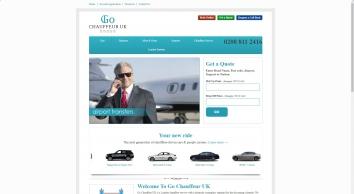 London Chauffeur Service | Heathrow Car Hire Company | Go Chauffeur UK