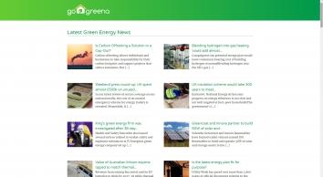 Go Greena - Green living blog