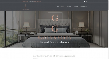 Interior Design | Gold & Grey UK