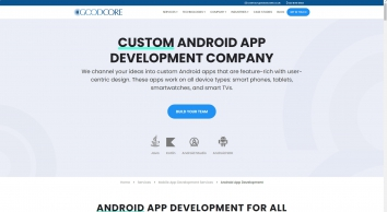 Android App Development - GoodCore Software London, UK