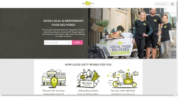 Good Sixty. Quality food from your local shops, producers and cafes