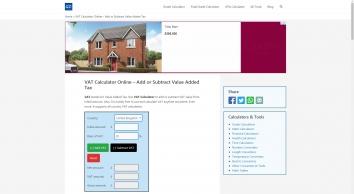 VAT Calculator Online