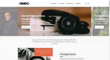 Grado   Headphones & Accessories   Official Store (UK)