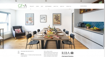 Architects & Planners website galleries