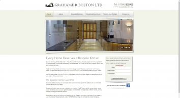 Bespoke Handmade Kitchens and Furniture | Grahame R Bolton of Bungay, Suffolk