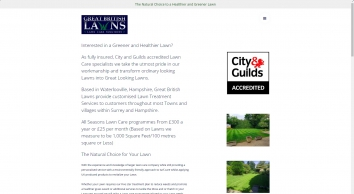 Great British Lawns | Lawn Treatment Services