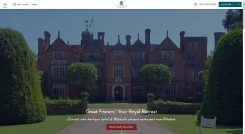 Great Fosters Hotel - The Estate Grill & The Tudor Room