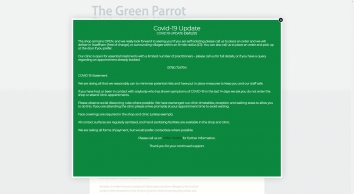 Going Waste Free at The Green Parrot! | Green Parrot