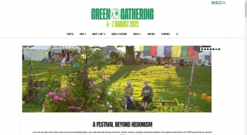 The Green Gathering festival - music, crafts, alt tech, campaigns and more