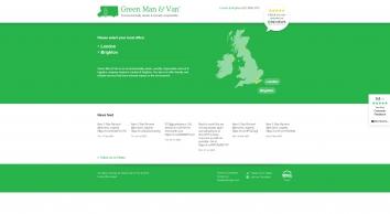 Green Man & Van | Location select