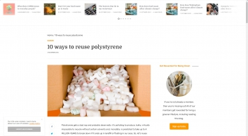 10 ways to reuse polystyrene - Greenredeem