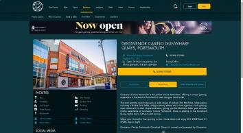 Grosvenor Casino Osborne Road, Portsmouth