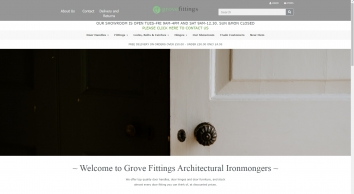 Door handles Door hinges locks and fittings in Leigh on sea Essex Free Delivery available