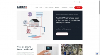 Ground Source Heat Pumps   GSHPA is the focal point of the ground source heat pump industry   Renewable Heat   Renewable Cooling    GSHP   Ground Source Heat Pump Systems