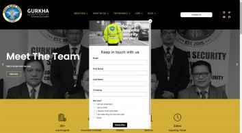 Gurkha Security Services