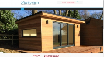 Garden Office Furniture   Garden Offices UK, Work From Home With Nice Furniture