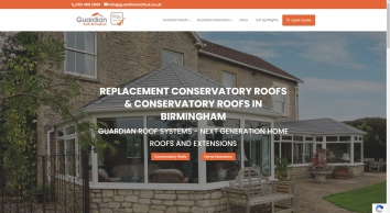 Guardian Warm Roof Birmingham - LABC Approved Replacement Conservatory Roofs